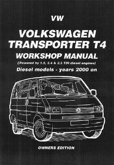 volkswagen transporter t4 2000 2004 diesel 1 9 2 4 2