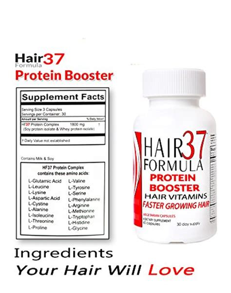 proteins and vitamins hair treatment feed your hair to new hair formula 37 protein booster supplements for best