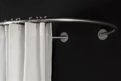 Shower Curtain Rods Tringle Rideau De Circulaire Galbobain Galbobain