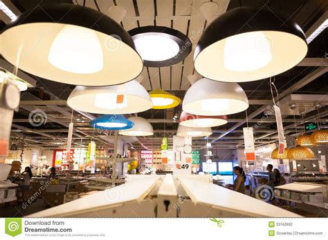 Ikea Store In Chengdu Ls Editorial Photography Image Light Stores
