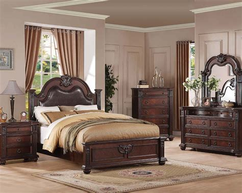 traditional bedroom furniture traditional bedroom set daruka by acme furniture ac21310set