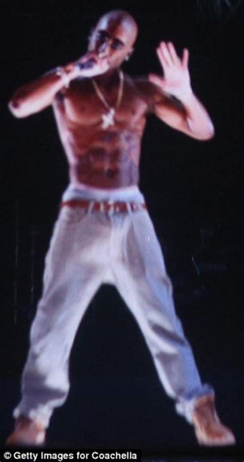 tupac at coachella rapper comes alive via hologram to tupac shakur resurrected at coachella 2012 as late rapper