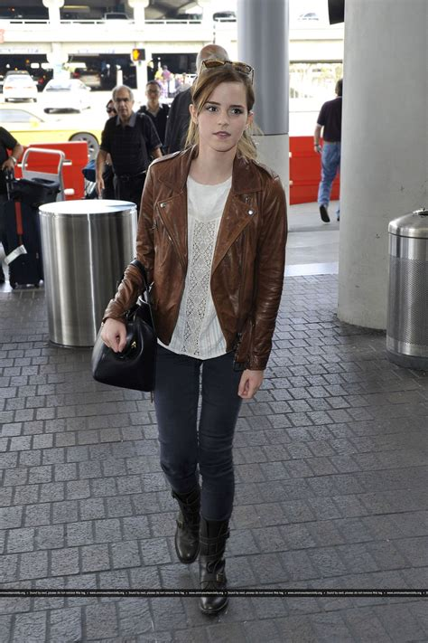 Style Watson by Watson Style At Lax Airport October 2013