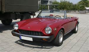 1975 Fiat 124 Spider Fiat 1975 124 Spider The History Of Cars Cars