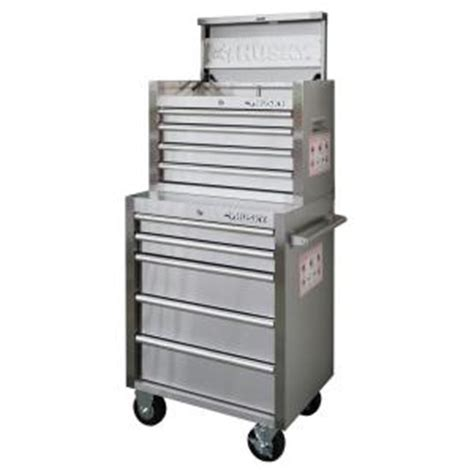Husky 32 Steel Cabinet by Husky 26 In 9 Drawer Stainless Steel Tool Chest And