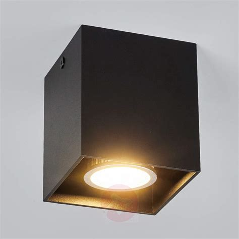 carson surface mounted ceiling spotlight black lights