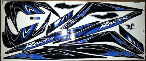 Decal Motor Yamaha Mio Gt Tanabe Blue yamaha mio soul sticker design custom sticker