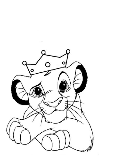 lion king coloring pages for kids coloring home