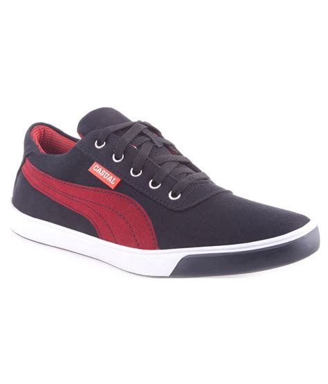 trendystuff4u black canvas shoes price in india buy