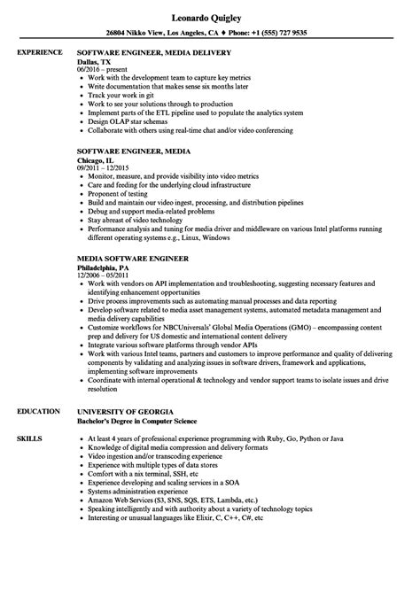 key skills in resume for software engineer photo