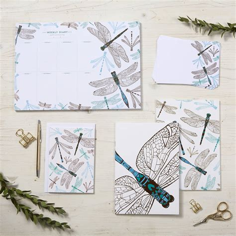 dragonfly planner dragonfly weekly planner by cherith harrison notonthehighstreet