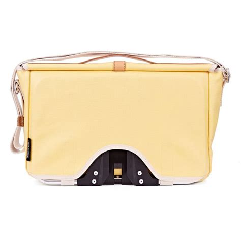 Brompton Flap Kit Yellow brompton shoulder bag yellow