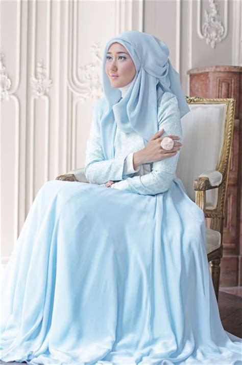 Gamis Pelangi Hijabers Princess model baju lebaran 2015 ala dian pelangi info makkah