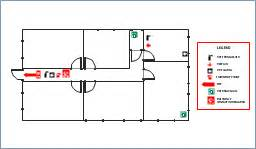 Fire Evacuation Floor Plan Template office fire and emergency plan