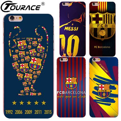 Jersey Timnas Iphone 6 7 5 Xiaomi Redmi Note F1s Oppo S6 Vivo barcelona jersey 2017 cover for iphone 7 5s capinhas transparent pc phone cover
