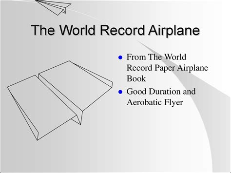 How To Make A World Record Paper Airplane Glider - paper airplanes