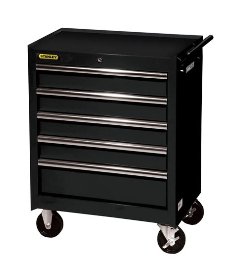 stanley tool chest cabinet stanley 27 quot 5 ball bearing slides roller cabinet black