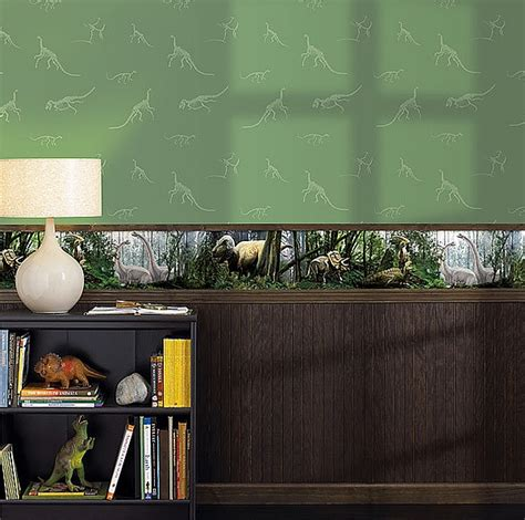 dinosaur wallpaper for room bedrooms with dinosaur themed wall and murals