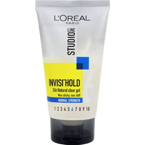 Loreal Studio Gel 150 Ml Level 5 l oreal studio line invisi hold 24h clear gel