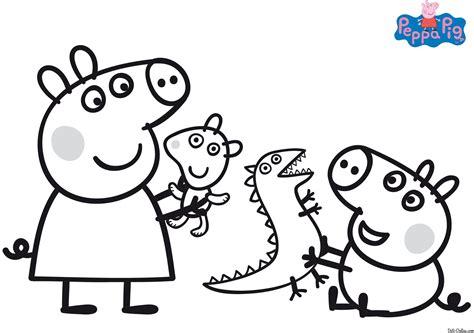 The Pig Coloring Pages раскраска пеппа и игрушки раскраски свинка пеппа by The Pig Coloring Pages