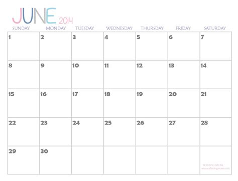 search results for june 2014 calendar with holidays page