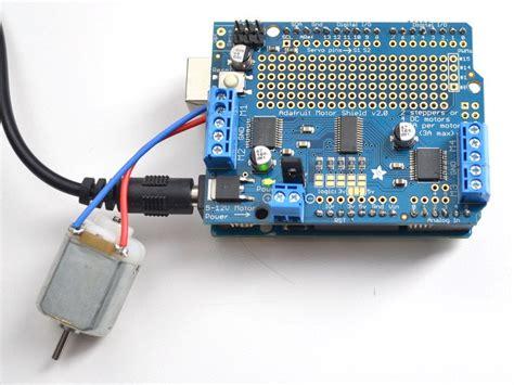 how to program a dc motor with arduino overview adafruit motor shield v2 for arduino adafruit