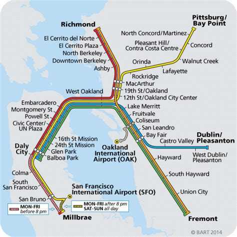 bart system map bart delays expected systemwide kron4