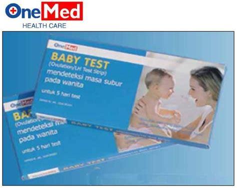 Alat Tes Kesuburan Pria Dan Wanita baby test one med untuk deteksi masa subur secara murah