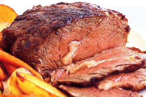 basic roast beef vegetables