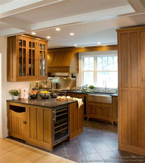 mission kitchen cabinets mission style kitchens designs and photos