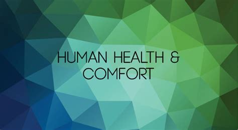 health comfort human health comfort point energy innovations