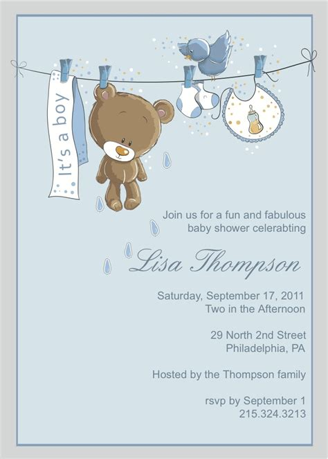 baby shower templates for boy petals paper boutique new baby shower invitations