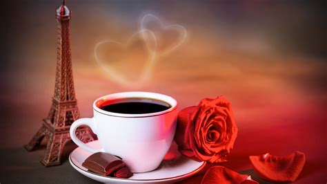 coffee wallpaper red coffee chocolate and red rose android wallpapers for free