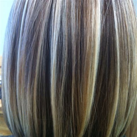 hair foils colour ideas foils with gray dark brown hairs