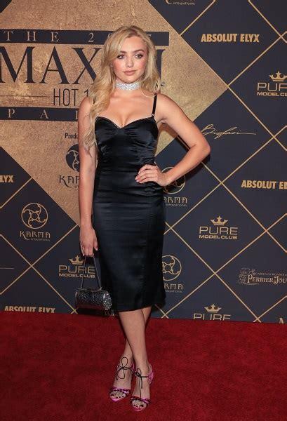 Fashion Files: Peyton List ? 2017 Maxim Hot 100 Party