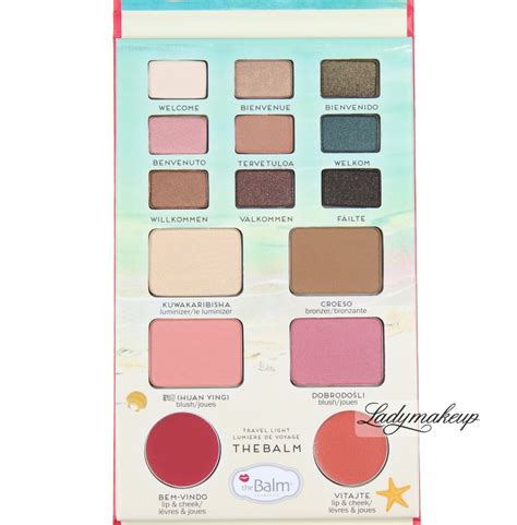 The Balm Voyage Vol 2 Palette the balm voyage travel palette vol ii