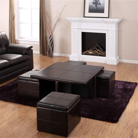 black leather living room ideas