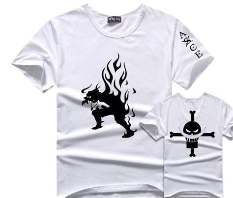 T Shirt Kaos Portgas D Ace One New Fullprint Putih Kd Cwm 139 aliexpress buy one portgas d ace t shirt