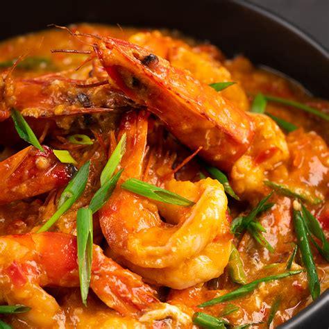 singapore style chilli prawns marions kitchen