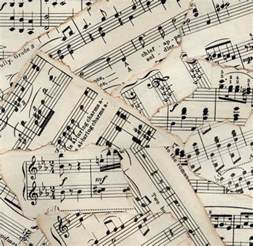 Piano Sheet Background by Only King Forever Monday Musical Musings