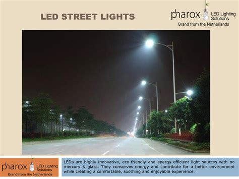 Advantages Of Led Street Lights Authorstream Advantages Of Led Light Bulbs