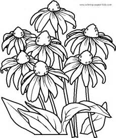 flowers coloring page printable flower coloring pages flower coloring page