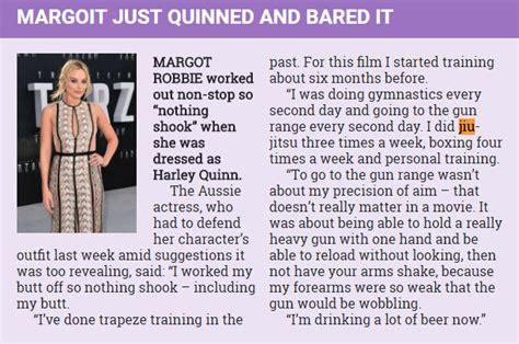 margot robbie jiu jitsu margot robbie explains intense jiu jitsu routine she did