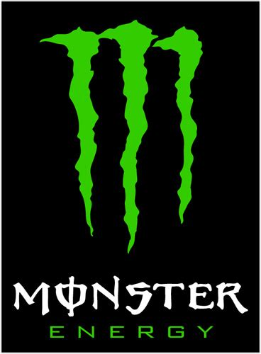 monster energy vinyl sticker whitetext monster energy