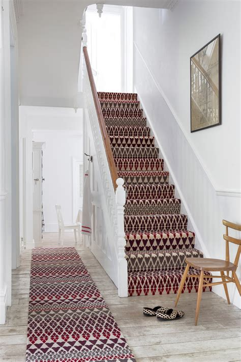 Area Rug On Wall To Wall Carpet by Gorgeous Hallway Runners In Staircase Traditional With