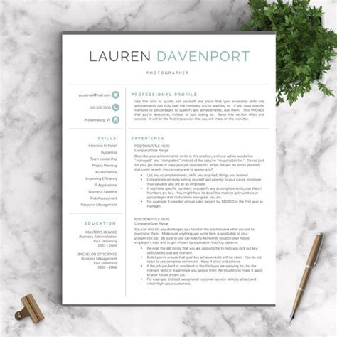 Modern Cv Templates Free by Best 25 Modern Resume Template Ideas On