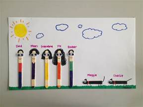 Family Tree Craft Ideas For Kids - family crafts for preschool ye craft ideas