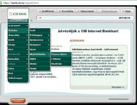erste bank netban cib netbankol 225 s a legjobb di 225 ksz 225 mla