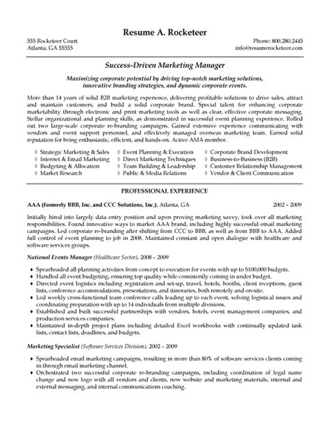 hr executive resume sles hr manager resume sle