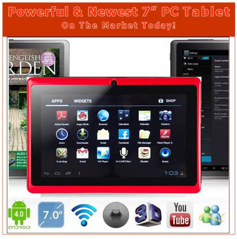 most powerful android tablet devices the most powerful newest 7 quot android 4 0 pc tablet in on the market today was